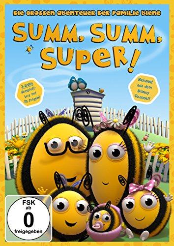 SUMM, SUMM, SUPER! - Die großen Abenteuer der Familie Biene (Komplettbox) [3 DVDs] hier kaufen