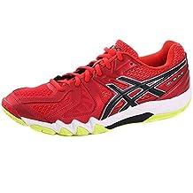Chaussures Asics Gel-BLADE 5 rouge/noir/jaune