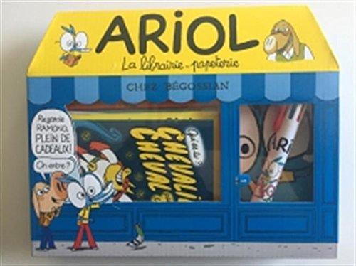 Ariol - Coffret La librairie-papeterie Chez Begossian: La librairie-papeterie coucoule Chez Begossian