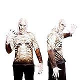 Yiija Fast Fun - Disfraz camiseta Walker, para adultos, talla M, color blanco (Viving Costumes YJ00013)