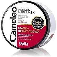 Delia cameleo color pelo queratina máscara con aceite de marula 200ml