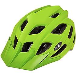 Merida bicicleta casco protector de Psicosis M Casco Protector de bicicleta casco, verde