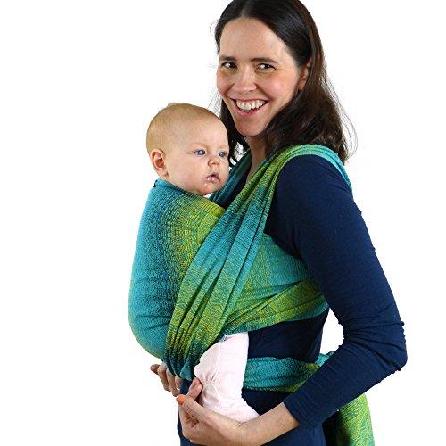 Didymos Babytragetuch, Modell Ada Malachit, Größe 7
