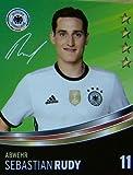 Rewe DFB Sammelkarten EM 2016 Auswahl aus allen 36 und Sammelalbum oder alles komplett (Nr 11 Sebastian Rudy)