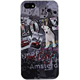 Akashi Coque pour iPhone 5/5S Love My City