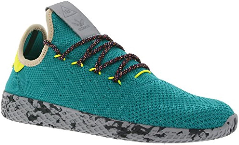 adidas Pharrell Williams Tennis HU Schuhe Sneaker Turnschuhe Grün Mesh Größenauswahl:36 2/3