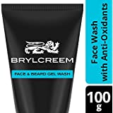 Brylcreem Face and Beard Wash - Infused with anti-oxidants, 100 gm