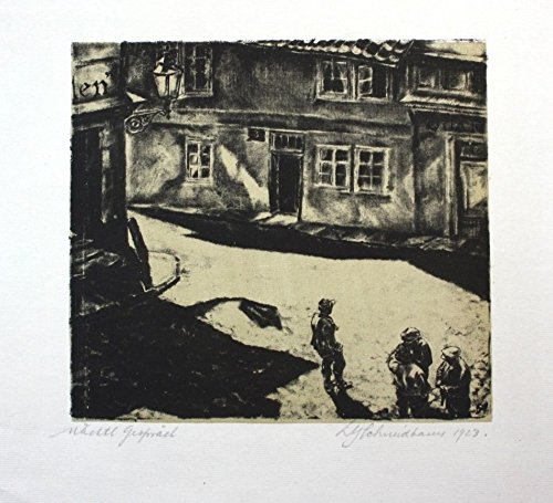 Ludwig Gottfried Schmidbauer - Zürich - Lithographie signiert signed