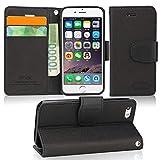 IPHOX Coque iPhone SE/ 5S/ 5 Étui de Protection Porte-cartes en Cuir Portefeuille...