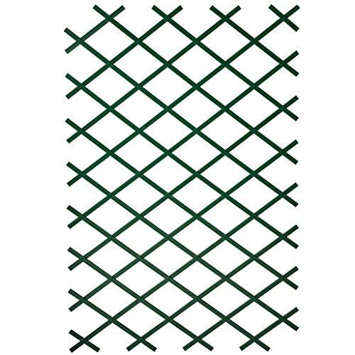 Treillis extensible plastique vert - 100x200cm