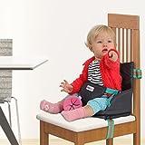 Boostersitz fur Kleinkinder - Praktischen aufblasbarer kindersitz - Leicht in der Tasche verstaubar, einfach auf dem Stuhl montierbar - Reisesitz, Tragbar Sitzerhöhung mit Luftpolster