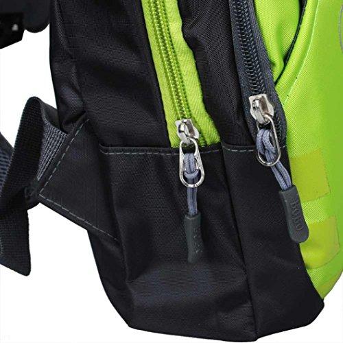 Ularma Herren Schultertasche Outdoor Sports Klettern Wandern Kurze Trips Herrentasche Grün