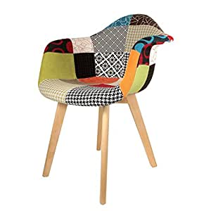 The Concept Factory Poltrona scandinavo Patchwork