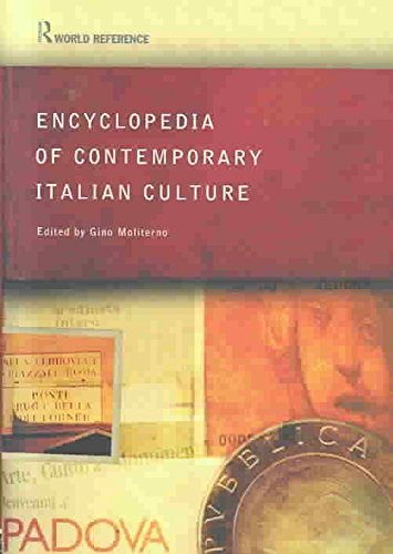 [(Encyclopedia of Contemporary Italian Culture)] [Edited by Gino Moliterno] published on (April, 2003)