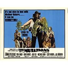 Las mutaciones Póster de película 11x 14en–28cm x 36cm Donald Pleasence Tom Baker Brad Harris Julie Ege Michael Dunn