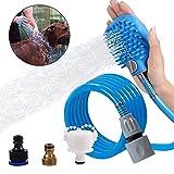 Generic ger Massagegerät, Massagegerät, für Katzen, Haustier-Badewanne, Hunde-Bürste, verstellbar