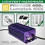 Vorschaltgerät Set Lumatek 400W NDL Set inkl. Adjust-A-Wings Avenger, Legrand Zeitschaltuhr und EasyRolls - ideal für Growbox/Growschrank