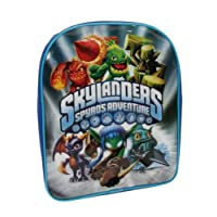 Trade Mark Collections Skylander Graphic Backpack (Silver)