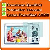 6x Displayschutzfolie Bildschirmschutzfolie KRISTALLKLAR von 4ProTec für Canon PowerShot A2500