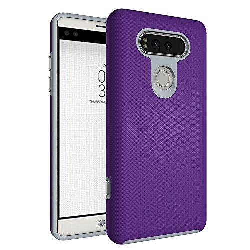 zy0032LG 防滑铠甲系列, violett, LG V20 - Handys Von Entsperrt Verizon