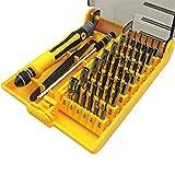 45en 1magnética Precisión Destornillador Juego de herramientas compacta Desmontaje Repair Tool