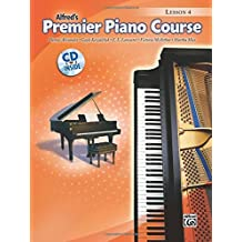 Premier Piano Course Lesson Book, Bk 4: Book & CD [With CD]