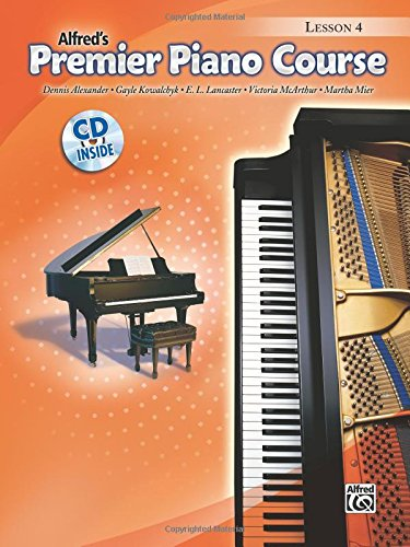 Premier Piano Course: Lesson Book 4 Piano