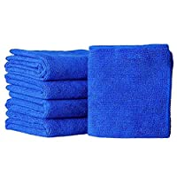 Sightui 5Pcs Durable Microfiber Cleaning Auto Soft Cloth Washing Cloth Towel Duster