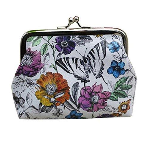 Damen-Geldbörse, ftxj Stilvolle Cute Schmetterling Geldbörse Kartenhalter Münzfach Kupplung Handtasche (Womens Brieftaschen Und Kupplungen)