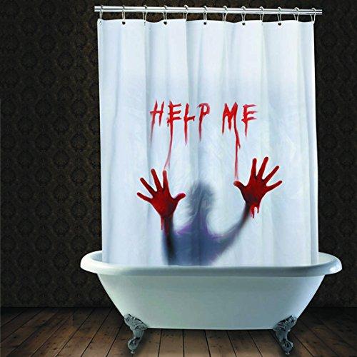 Duschvorhang Halloween Vorhang blutverschmiert