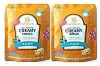Chef's Basket Creamy Tomato Pasta Sauce, 140g (Pack of 2)