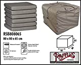 Raffles Covers RSB808065 Kissentasche für Loungemöbelauflagen Aufbewahrungstasche/Cover für Loungekissen, Tragetasche für Gartenmöbel Auflagen, Aufbewahrungstasche für Hochlehnerauflagen