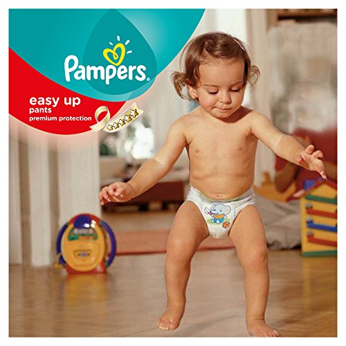 Pampers Windeln Easy up Gr. 4 Maxi 8-15 kg Mega plus Pack, 1er Pack (1 x 96 Stück) - 4
