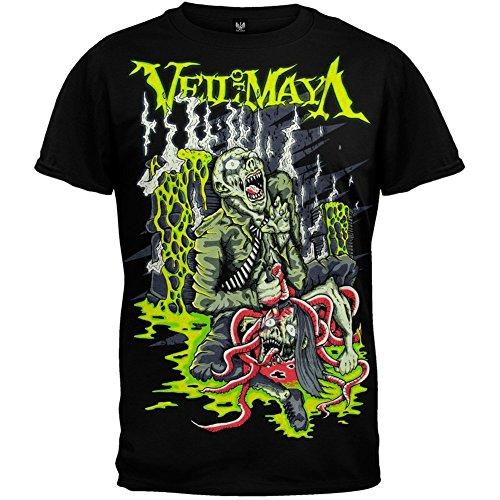 Michaner Walosde Veil Of Maya Men's Toxic Holocaust T-shirt Black Medium