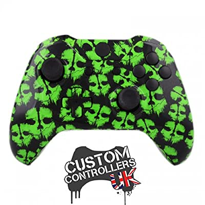 Xbox One Custom Controller - Call of Duty Ghosts Green