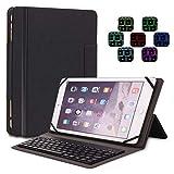 MISS&YG Tastatur Gehäuse-360 Grad Rotation Schwenk Hülle mit Drahtloser Tastatur Für Apple iPad 9,7 Zoll, Auch Fit iPad Air