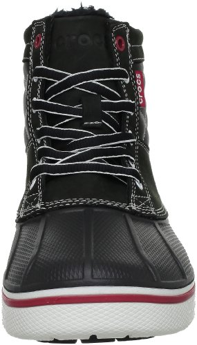 Crocs AllCast Duck Boot, Boots homme Noir (Black/White)
