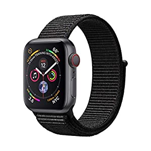 Apple Watch Series 4 GPS + Cellular, 40mm Gold Aluminium Case (Zertifiziert und Generalüberholt)