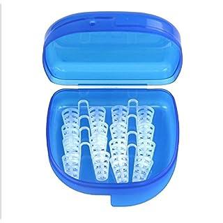 TechSmile Schnarchstopper, (8 Stück) Premium Anti Schnarch Mittel Nasendilatatoren für Nasenpflaster, Nasenklammer mit antibakterieller und praktischer Aufbewahrungsbox