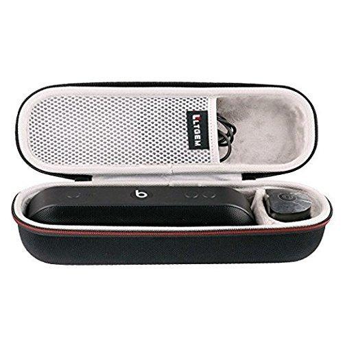 LTGEM Custodia rigida EVA Trasporto Borsa da Viaggio di Archiviazione per Beats by Dr. Dre Pill Plus Portable Bluetooth Wireless Speaker Altoparlante.Adatto Cavo USB e Caricabatterie da Muro.