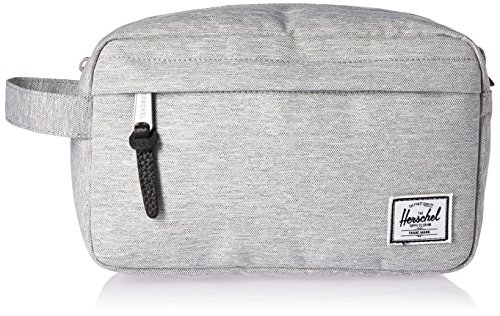Herschel Supply Co. Light Gris CrossChapeauch Chapter Toiletry Sac