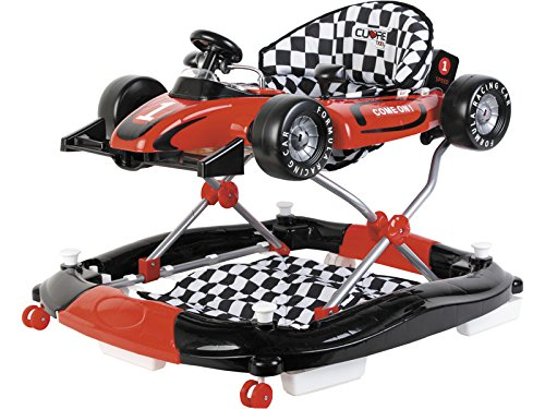 CUORE BABY Andador Rojo 3 en 1 Fórmula 1 Actividades