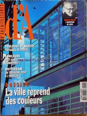 ARCHITECTURES (D') [No 90] du 01/01/1999