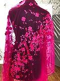 kn31Lace 3D Blumen Brautschmuck/Hochzeit Kleid bestickt