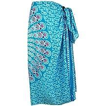 GURU-SHOP, Bali Sarong, Colgante de Pared, Falda Envolvente, Vestido Sarong