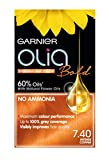 Garnier Olia Intense Copper Permanent Hair Dye Number 7.40