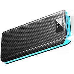 Batterie Externe X-DRAGON 20000mAh Power Bank 3-Port USB Chargeur Portable avec écran LCD pour iPhone, iPad, Samsung, Huawei, Xiaomi, Smart Cell Phones, Telephone - Bleu
