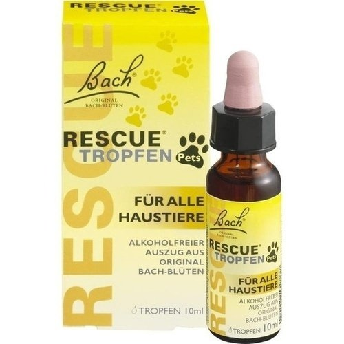 Bach Original Rescue Pets Tropfen 10 ml