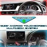 Audi Taffio® Audi A4 8K B8 A5 8T Q5 8R 10,25 Android Touchscreen GPS Navi Bluetooth USB RHD Rechtslenker Right Hand Drive