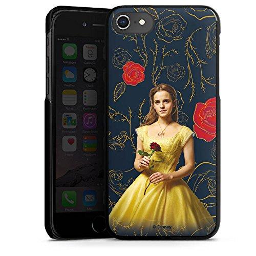 Apple iPhone 4s Silikon Hülle Case Schutzhülle Belle Die Schöne und das Biest prinzessin Hard Case schwarz